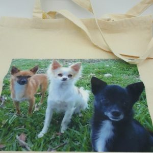 Chihuahua Canvas Shopper