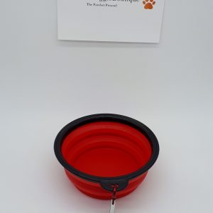 red silicone travel